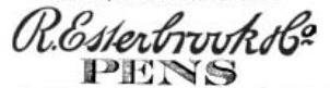 Esterbrook signature