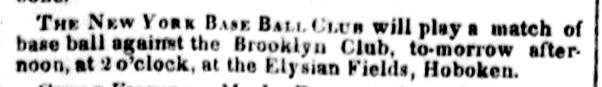 1845 baseball ny herald