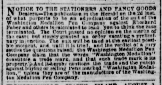 1864 lawsuit defendants